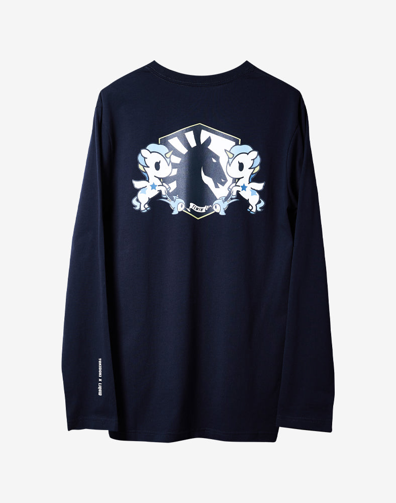 tokidoki x Team Liquid Crest Long Sleeve Tee (Unisex) Back