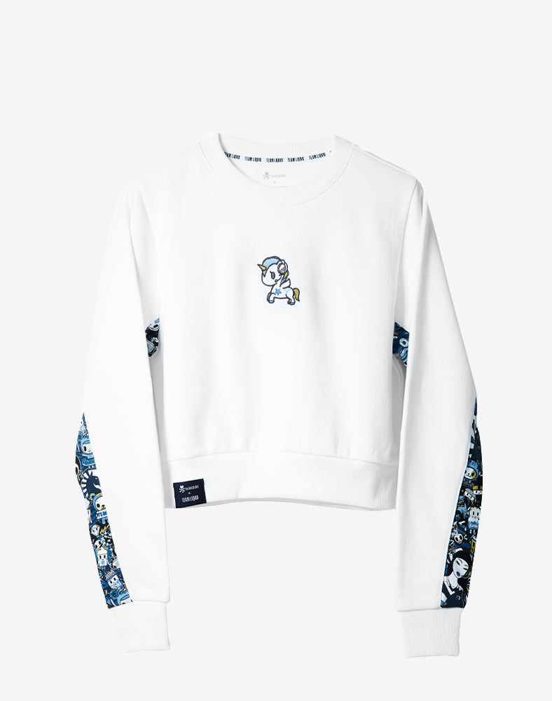 tokidoki x Team Liquid Cropped Sweatshirt Front