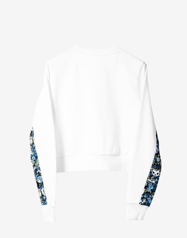 tokidoki x Team Liquid Cropped Sweatshirt Back