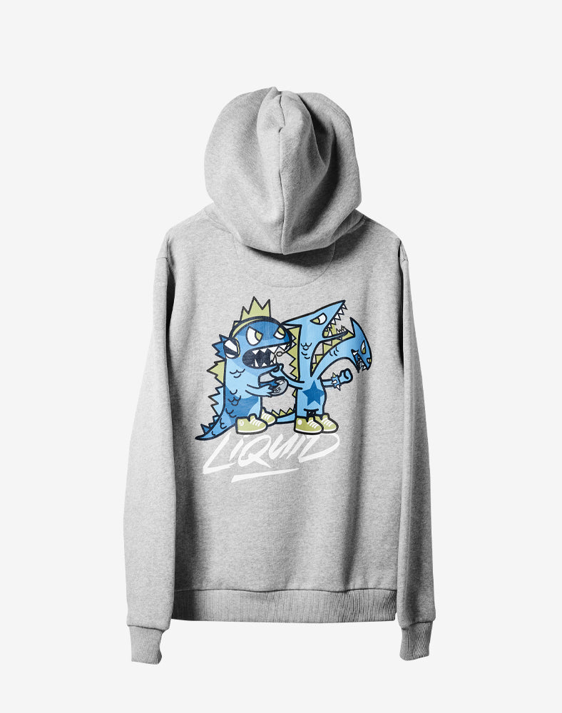 tokidoki x Team Liquid Dragon Gamers Hoodie (Unisex) Back