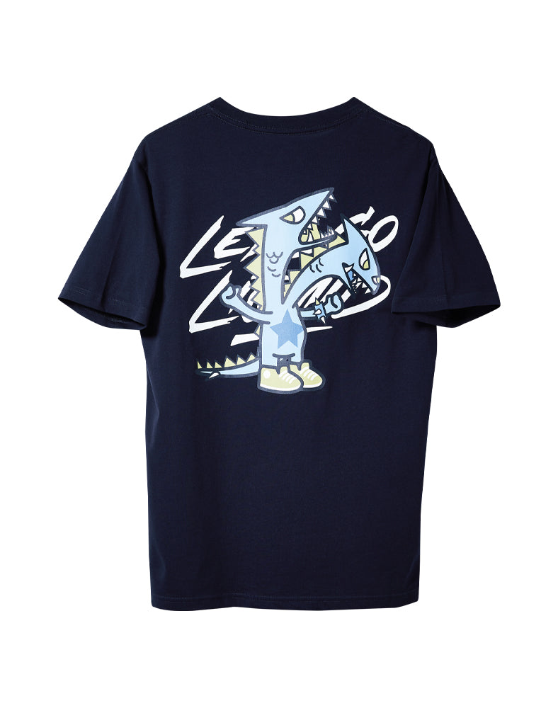 tokidoki x Team Liquid Let's Go Liquid Dragon Tee (Unisex) Back