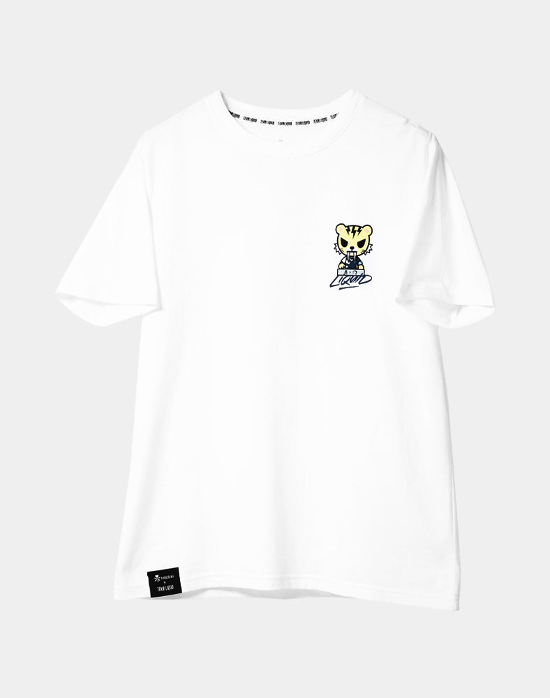tokidoki x Team Liquid Let's Go Liquid Tiger Tee (Unisex) Front