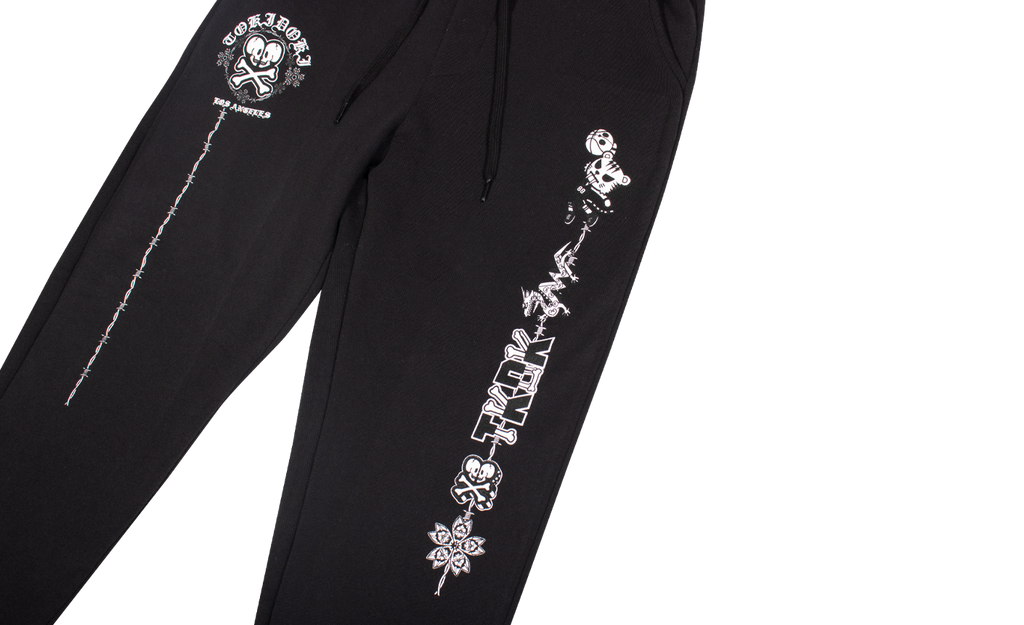TKDK Wired Unisex Jogger Pants Hero Close-up