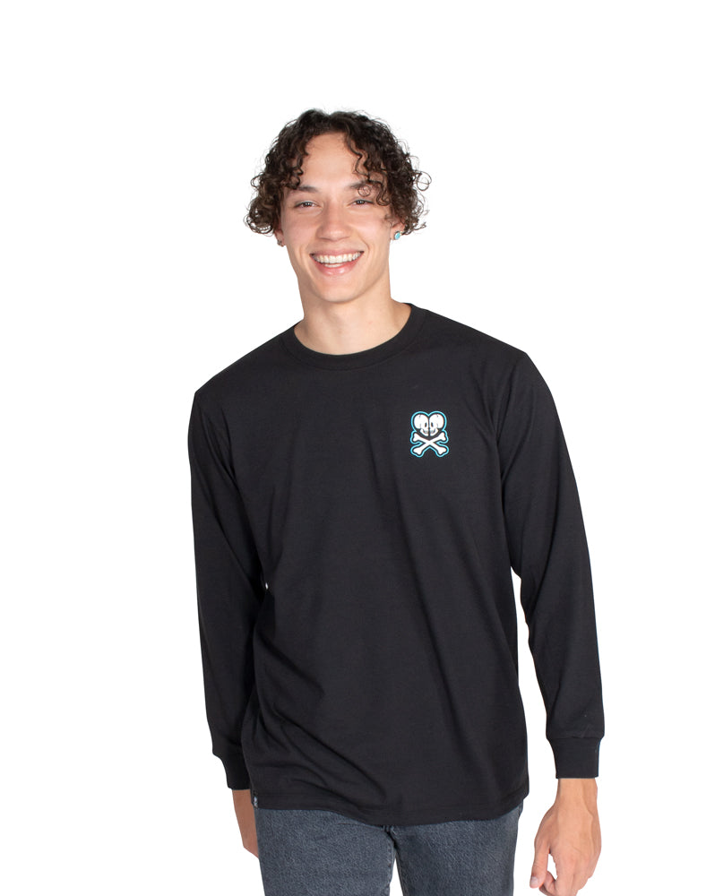 Tattoo Shop Long Sleeve Tee (Unisex) Front