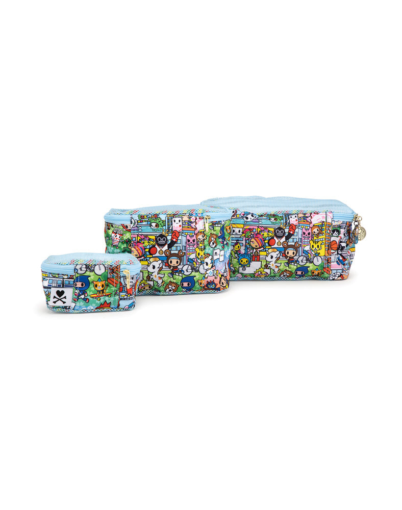 tokidoki x JuJuBe Be Organized Team Toki Back