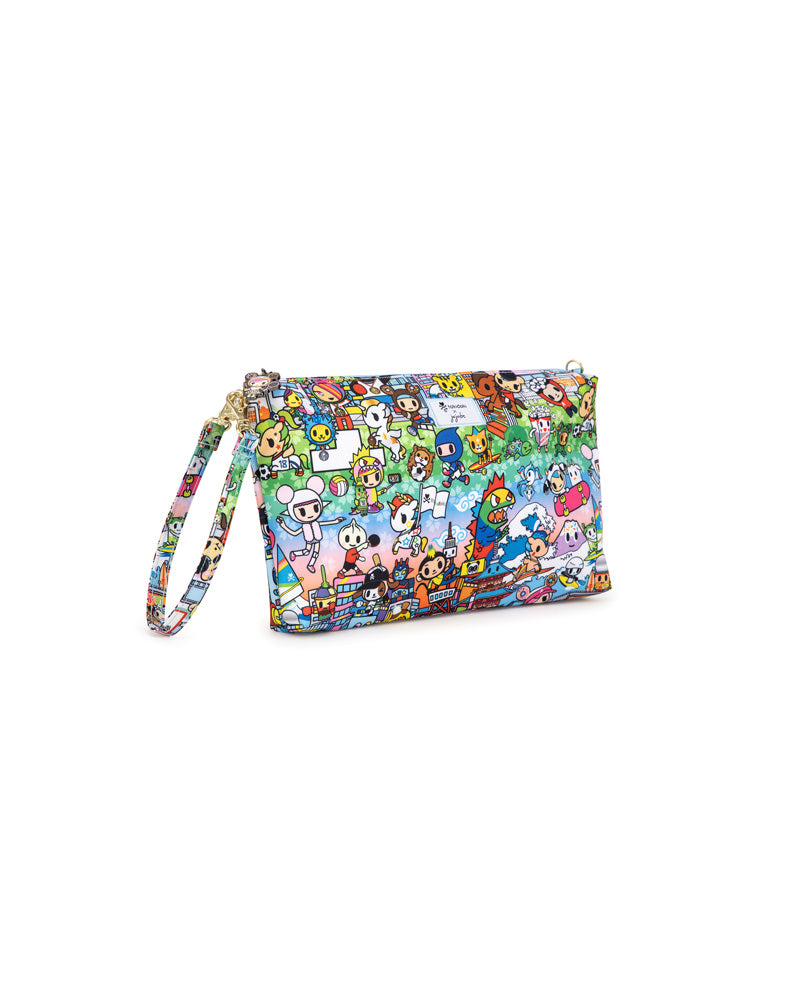 tokidoki x JuJuBe Be Quick Clutch Team Toki Angle