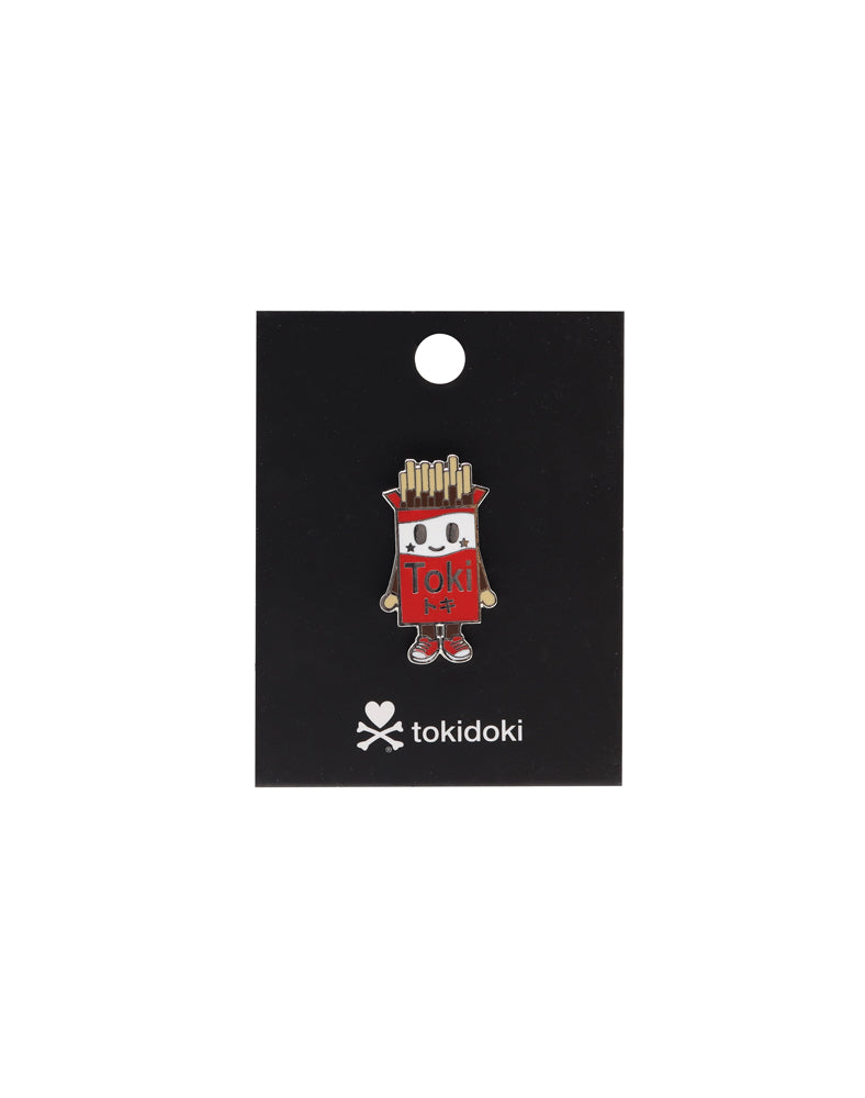 Toki Enamel Pin Card Back