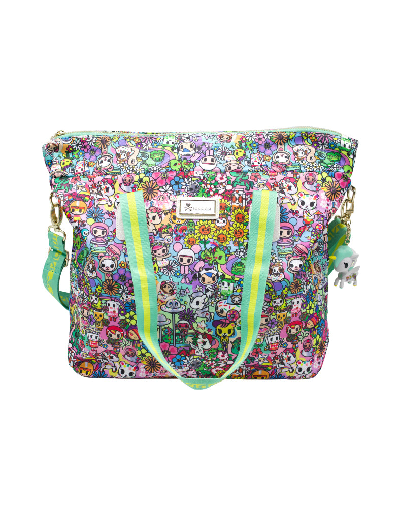 Flower Power Tote Front
