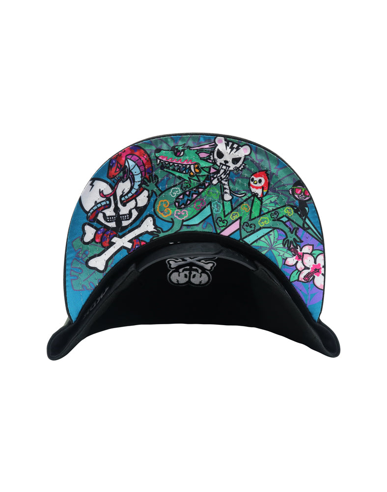 Tropic TKDK Snapback under brim