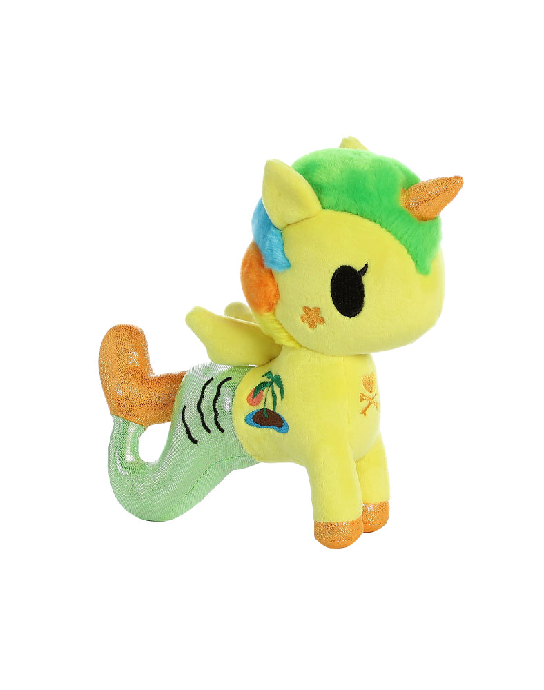 "Tropicana Mermicorno 7.5"" Plush Side"