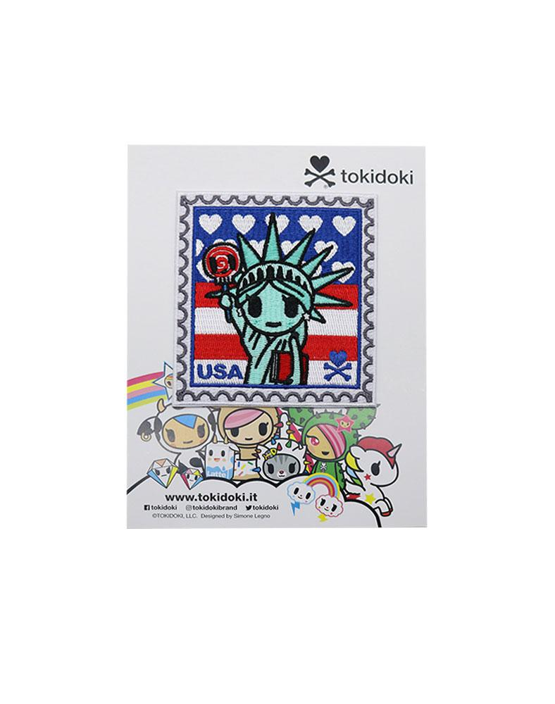 Travel USA Iron-on Patch Packaging