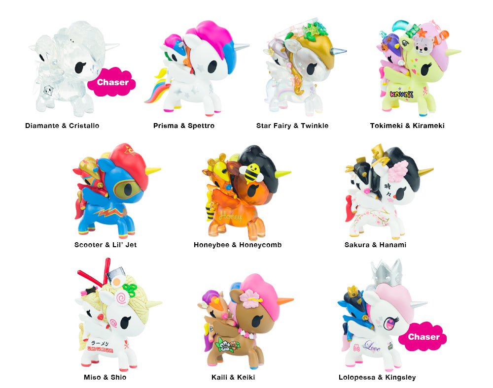 Unicorno Bambino Series 1 Blind Box Roster