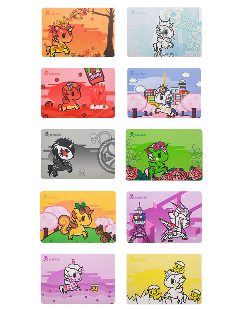 Unicorno Series 9 Postcard Postcard Set