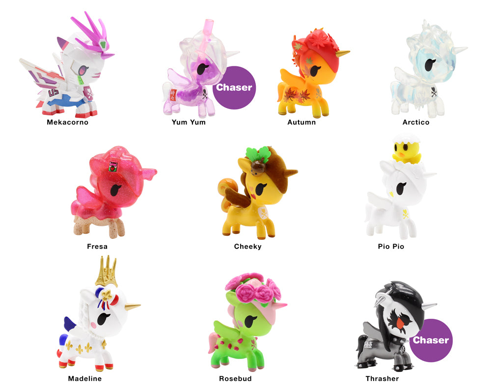 Unicorno Series 9 Blind Box Roster