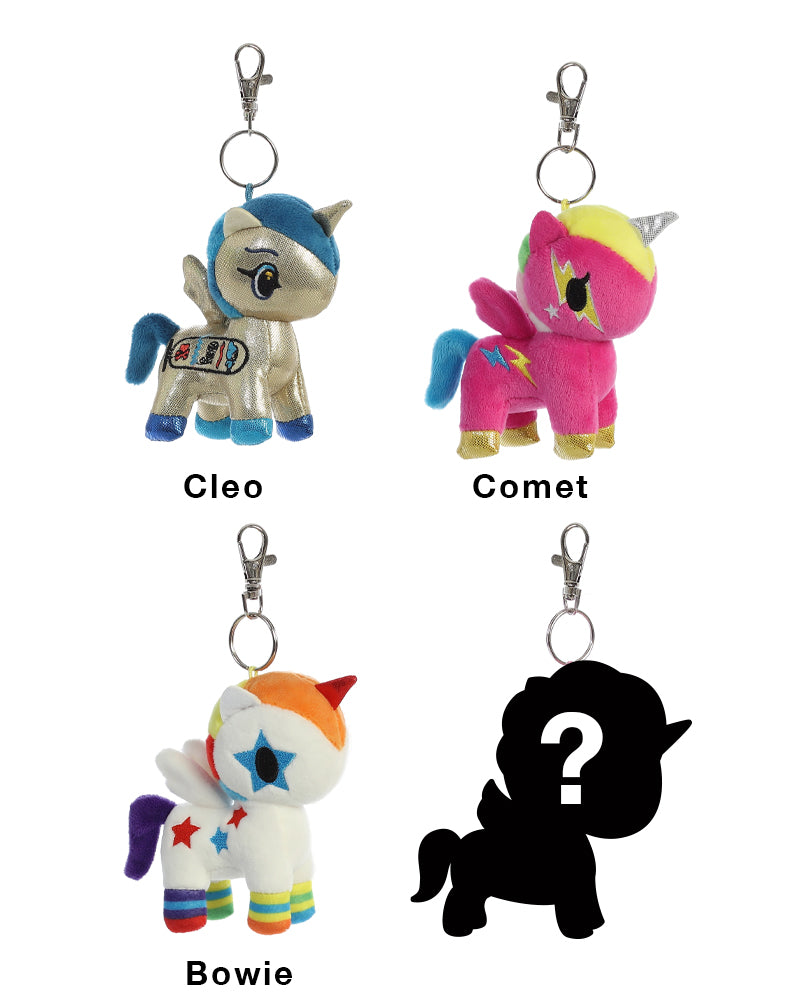 Unicorno Plush Clip-On Blind Bag Series 2 Roster