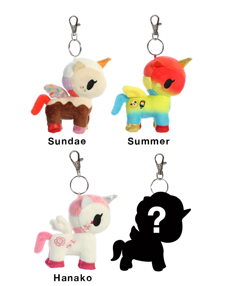 Unicorno Plush Clip-On Blind Bag Series 3 Roster