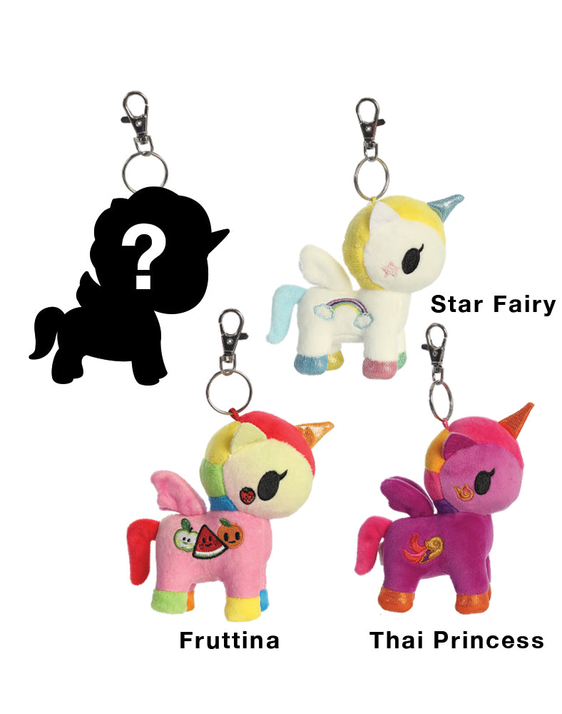 Unicorno Plush Clip-On Blind Bag Series 4 Roster