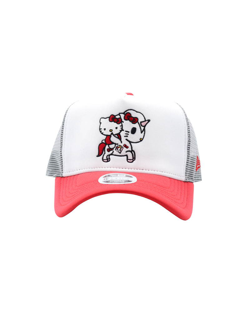 tokidoki x Hello Kitty Women's Unikitty Trucker Hat front
