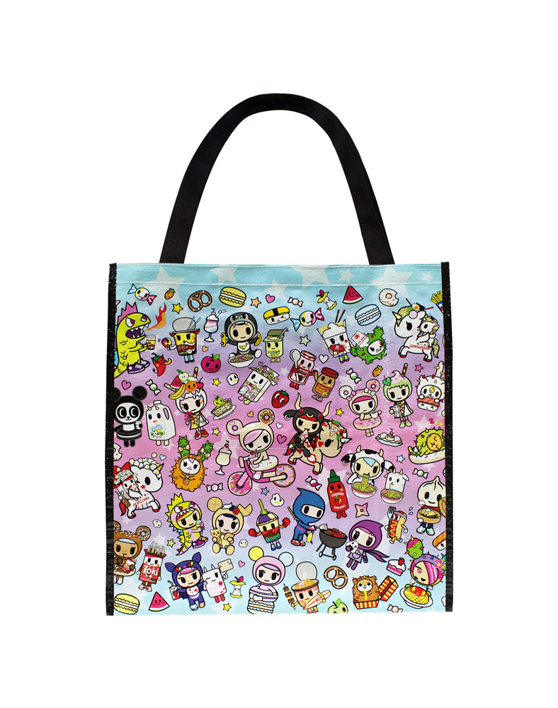 Cravings Vinyl Tote Back