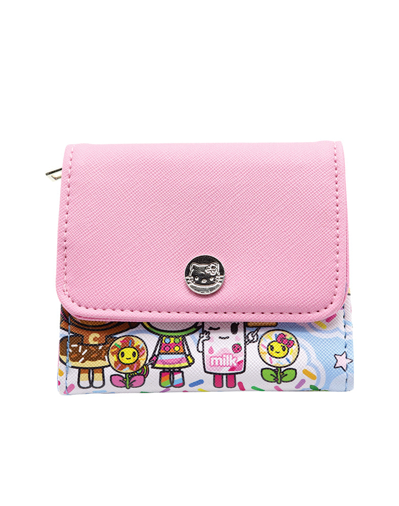 tokidoki x Hello Kitty Sky Blue Wallet Front