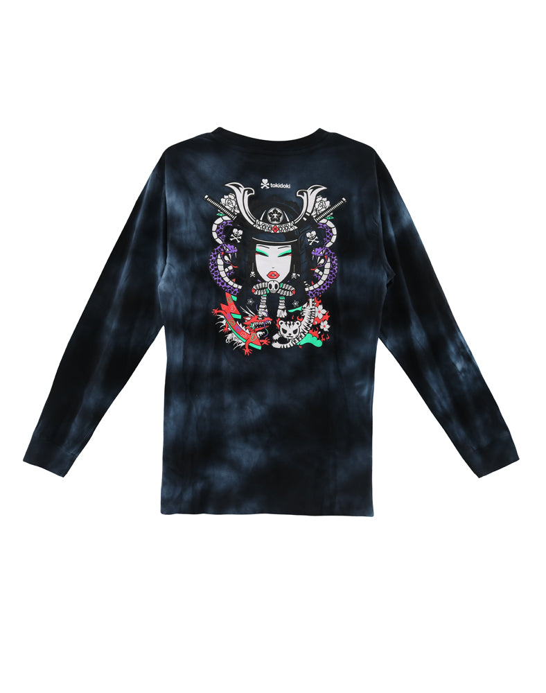 tokidoki-Con Warrior Girl Long Sleeve Tee (Unisex) Back