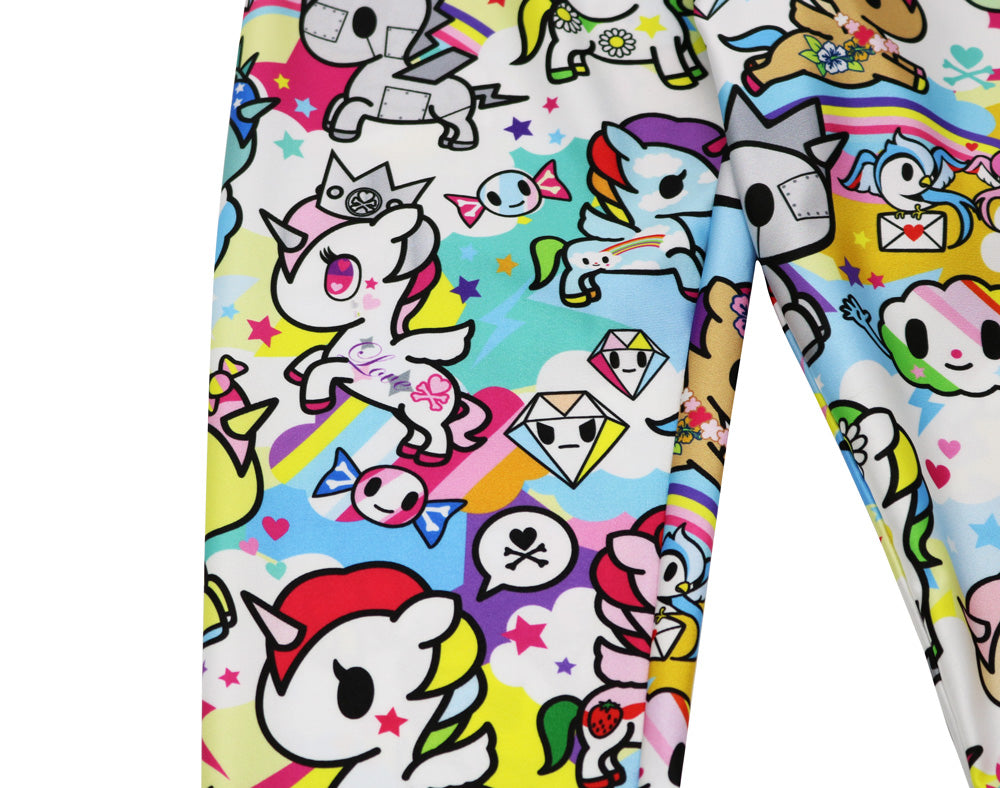 tokidoki Unicorno Leggings Close up