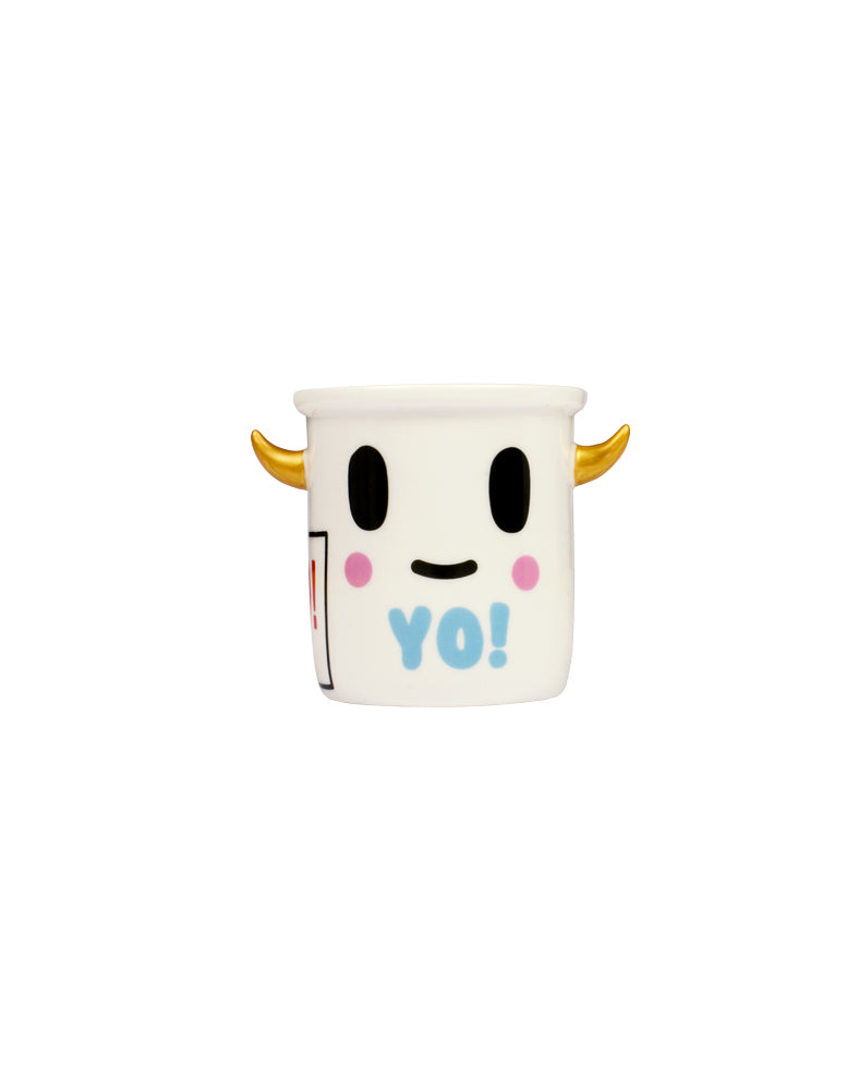 Moofia Yo! Mini Ceramic Planter front