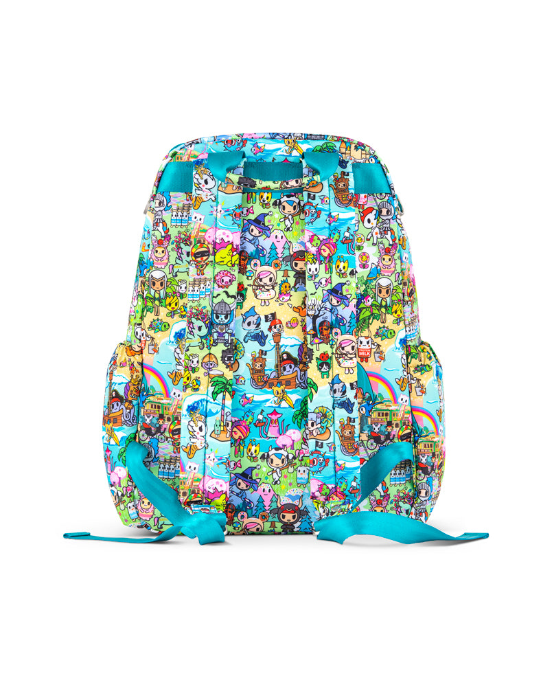 tokidoki x JuJuBe Zealous Backpack Fantasy Paradise Back