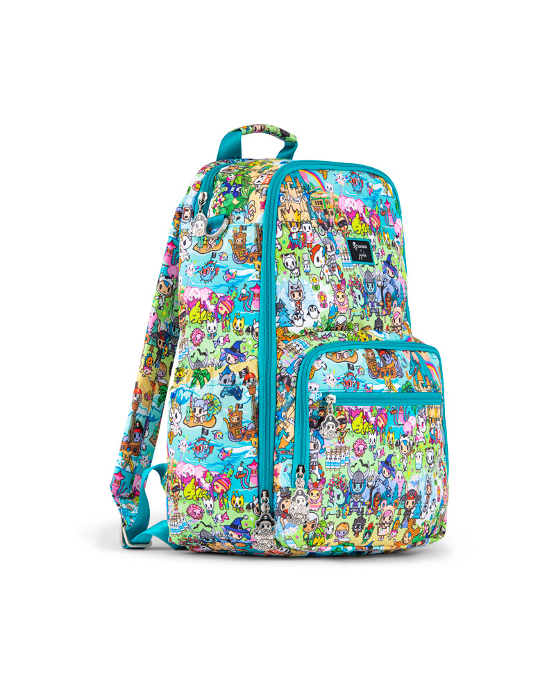 tokidoki x JuJuBe Zealous Backpack Fantasy Paradise Side