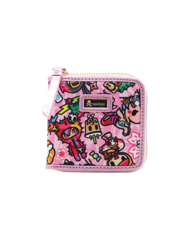tokidoki-Con Kimono Party Small Zip Around Wallet