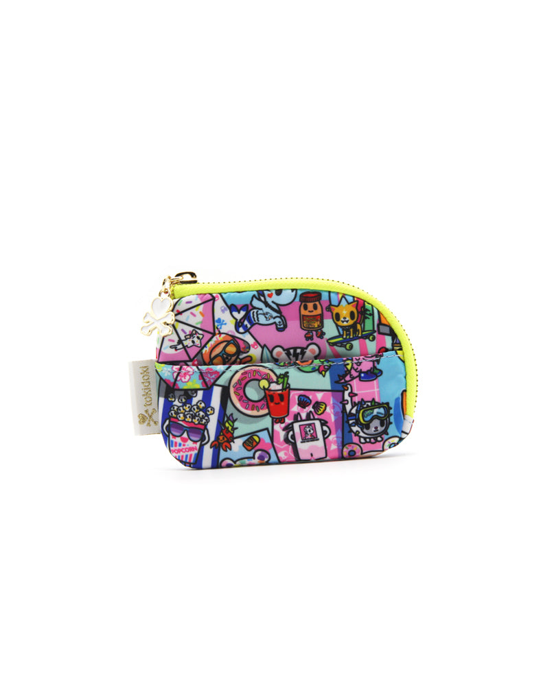 Pool Party Zip Coin Purse Back