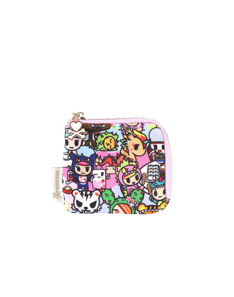 Toki Takeout Zip Coin Purse