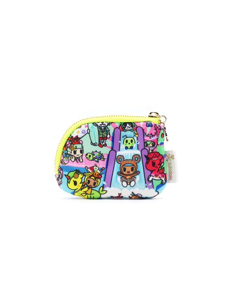 Pool Party Zip Coin Purse Front