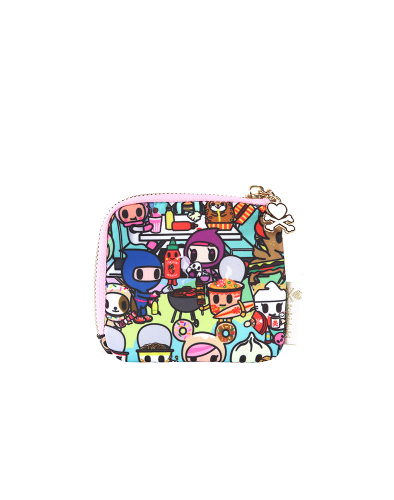 Toki Takeout Zip Coin Purse back