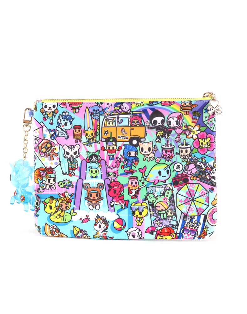 Pool Party Zip Pouch Back