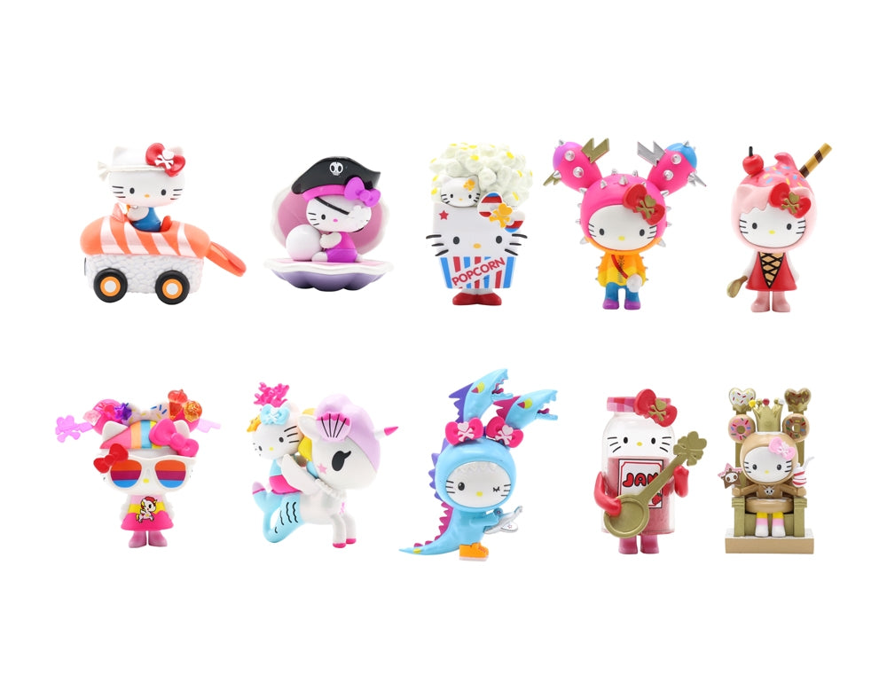 tokidoki x Hello Kitty Blind Box Series 2 figures