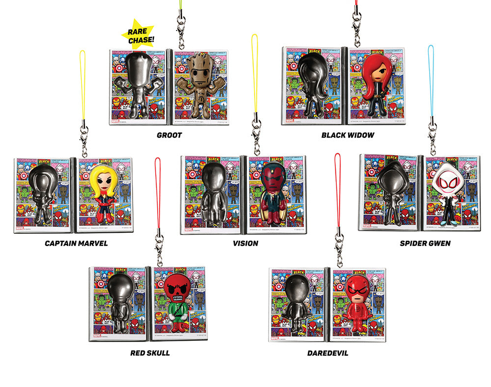 Marvel | tokidoki frenzies figures with names