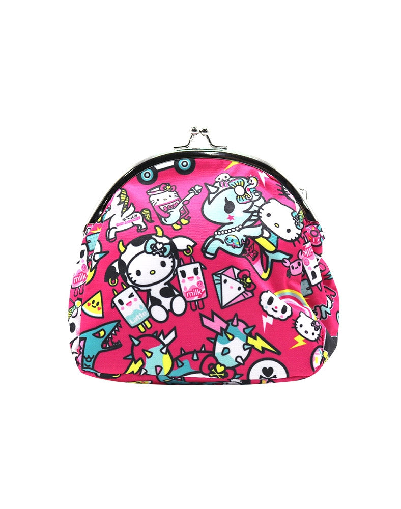 tokidoki x Hello Kitty Kawaii Kisslock Coin Purse back