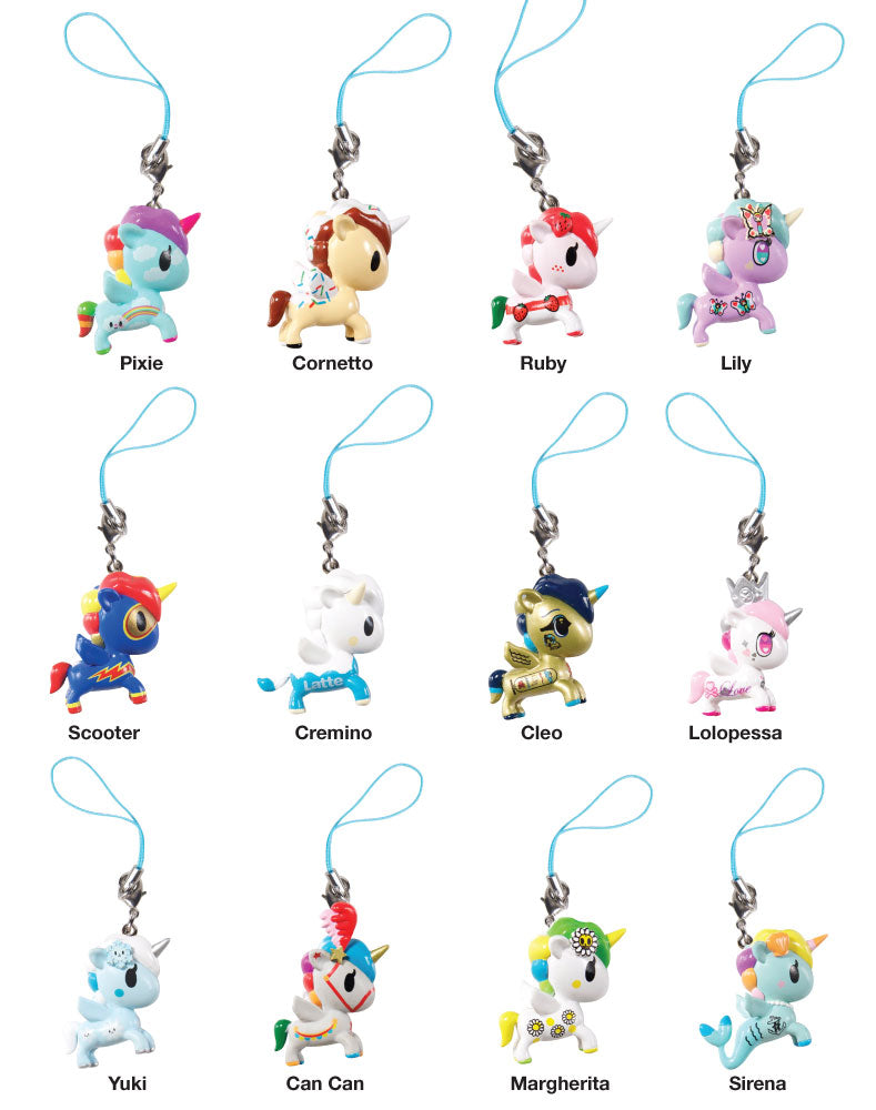Unicorno Frenzies Series 2 figures with names