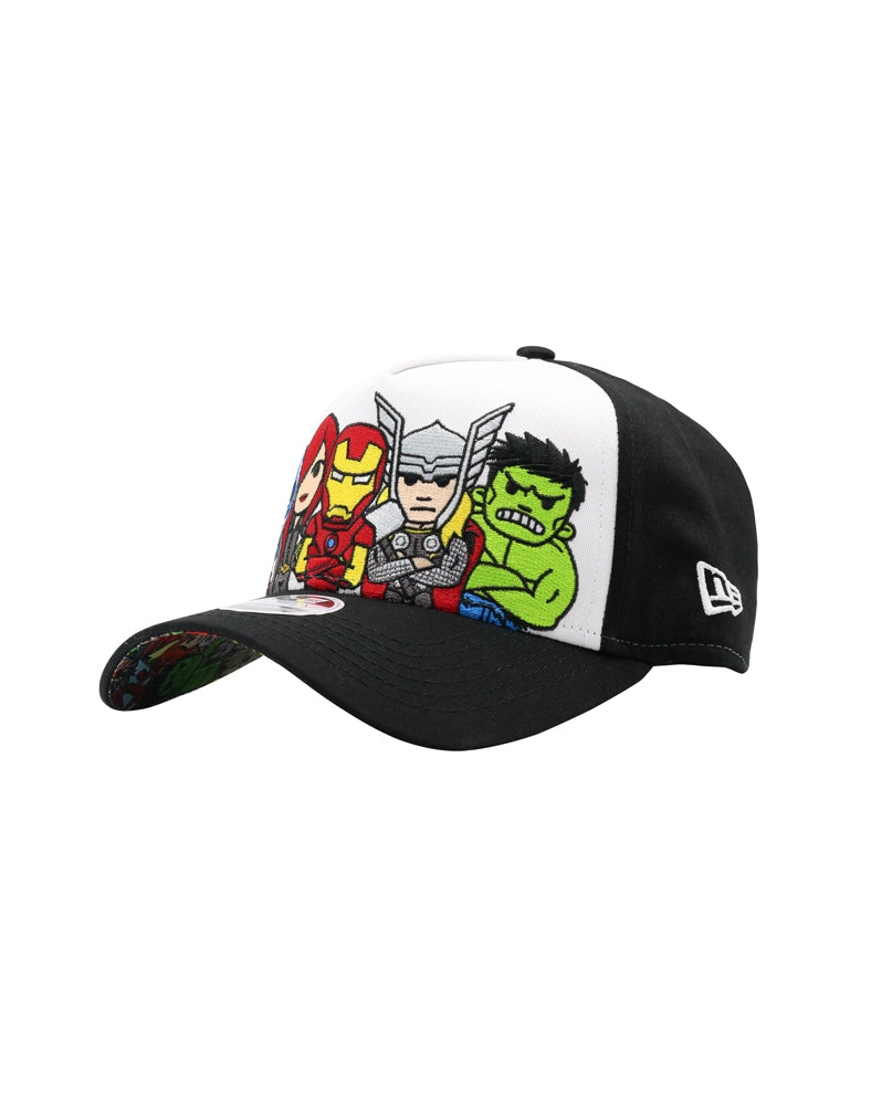 Marvel | tokidoki Ready for Action Women's Snapback front side