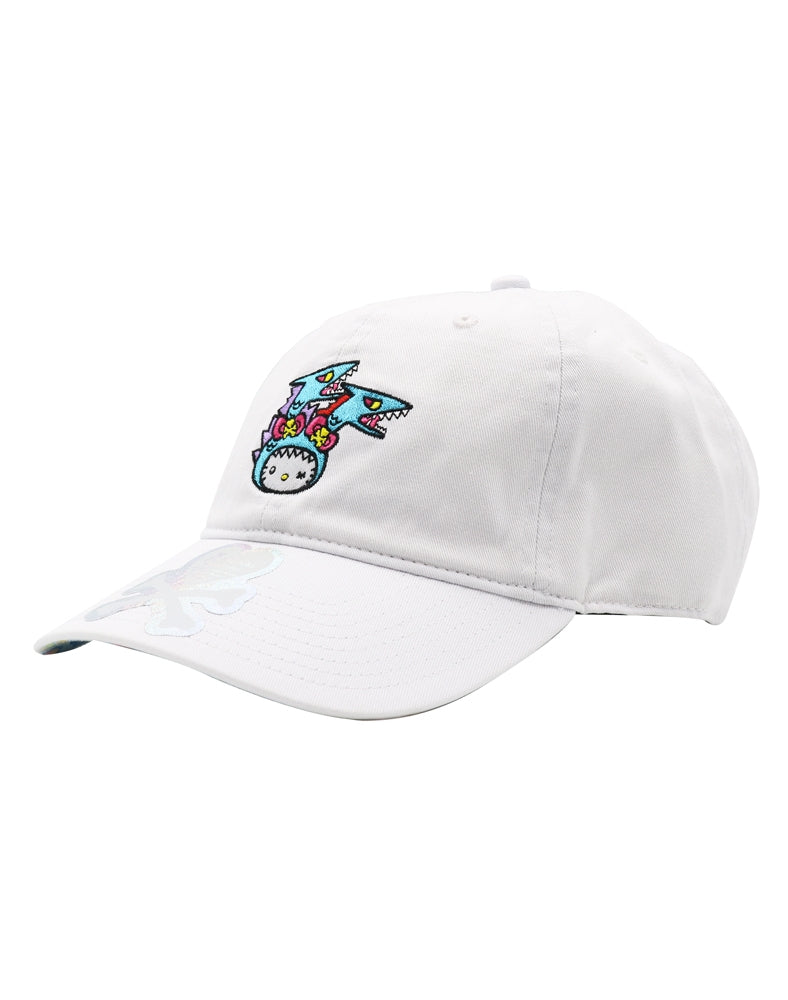 tokidoki x Hello Kitty Kaiju Kitty Bow Women's Adjustable Dad Hat front side