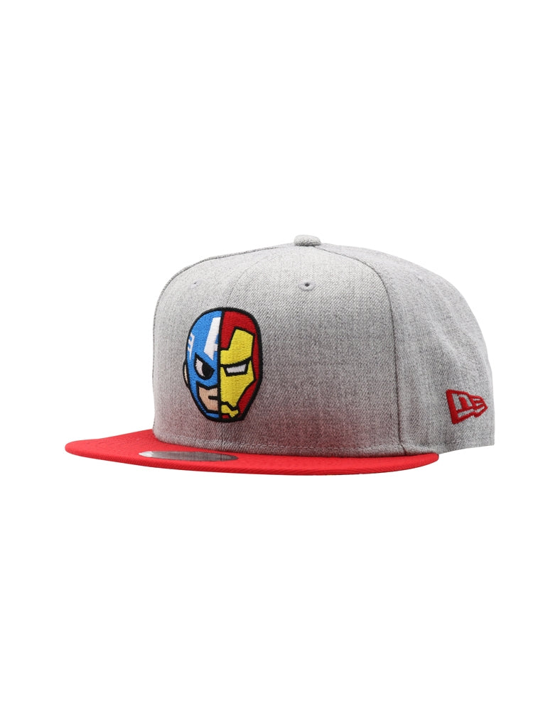 Marvel | tokidoki Cap & Iron Man Snapback front side