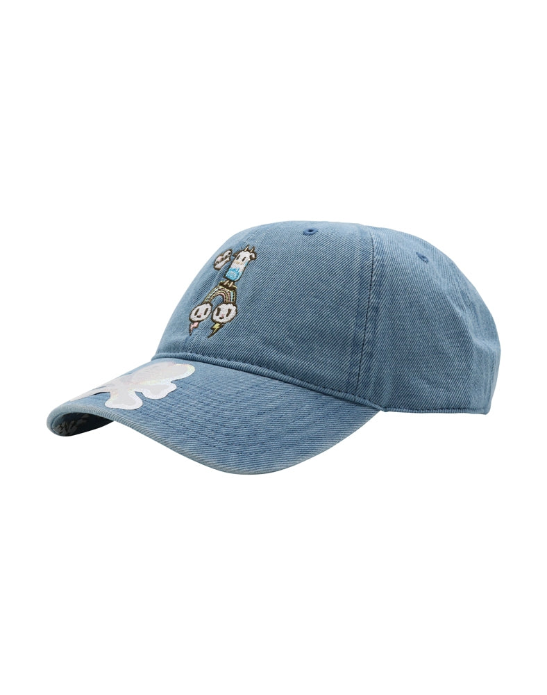 Rainbow Latte Women's Adjustable Dad Hat front side
