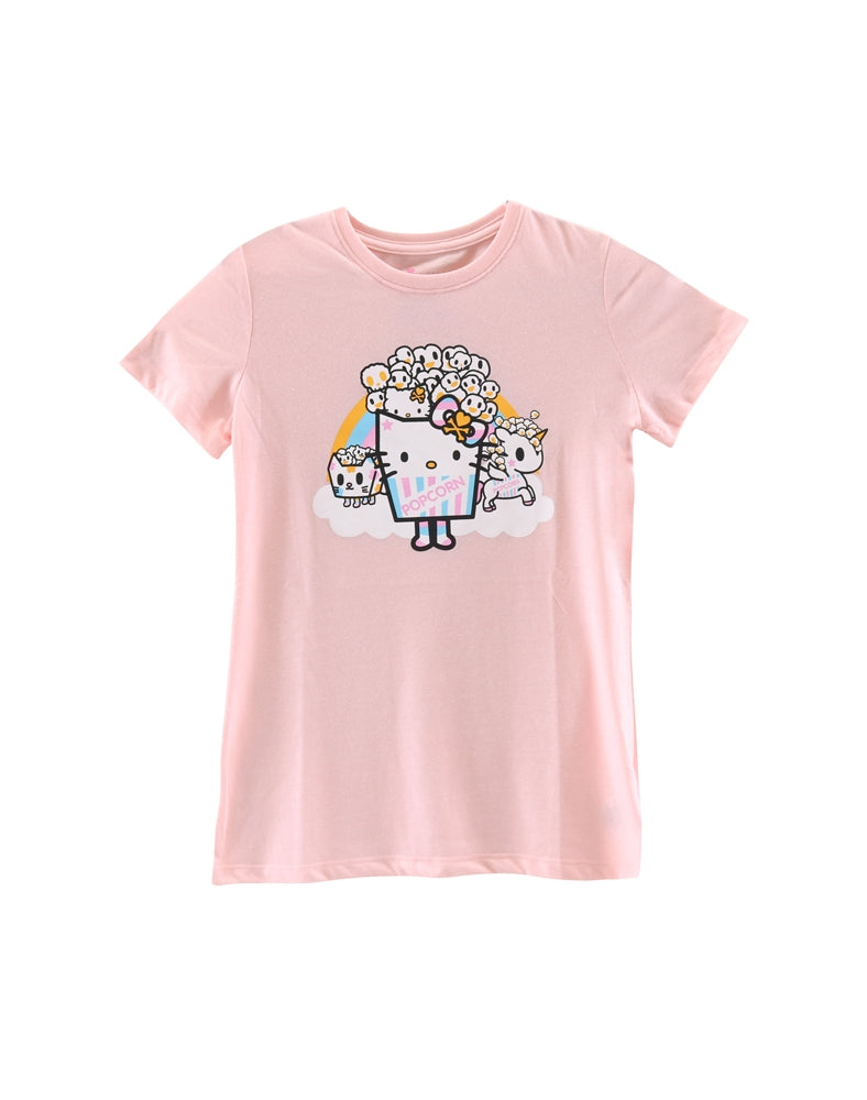 tokidoki x Hello Kitty Pop Kitty Friends Tee front