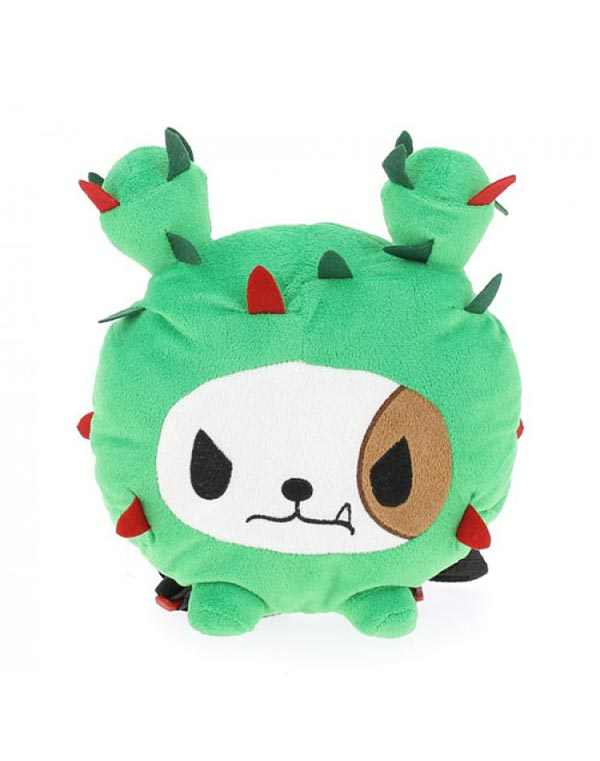 Cactus Dog Plush Backpack Front