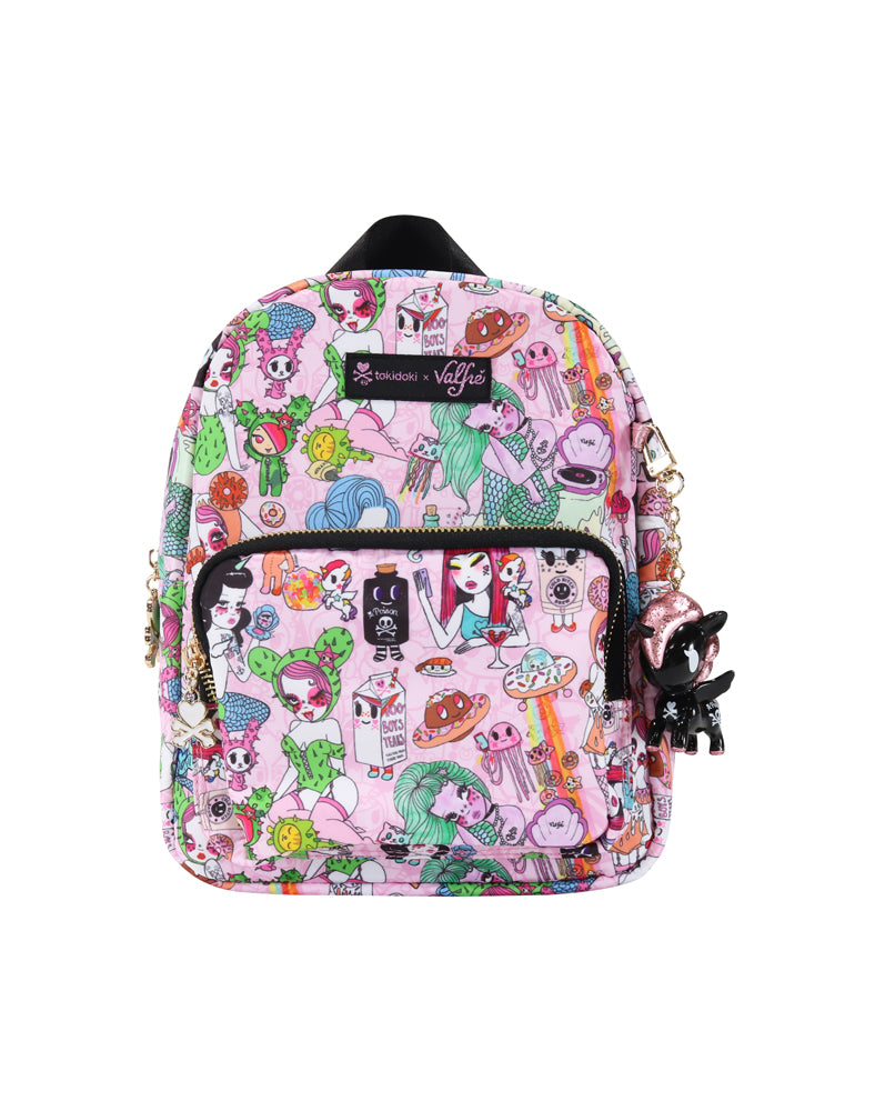 tokidoki x Valfré Mini Backpack front