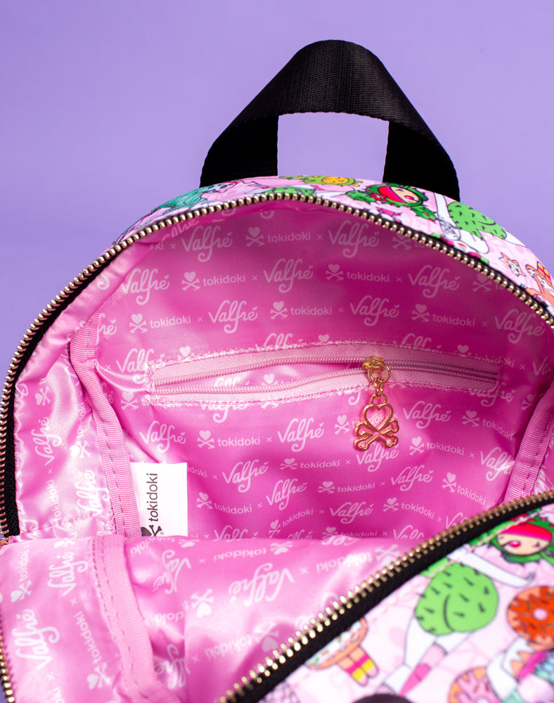 tokidoki x Valfré Mini Backpack Lining