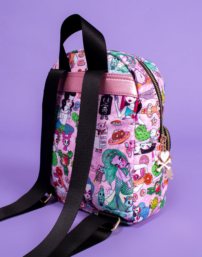 tokidoki x Valfré Mini Backpack Back Shot