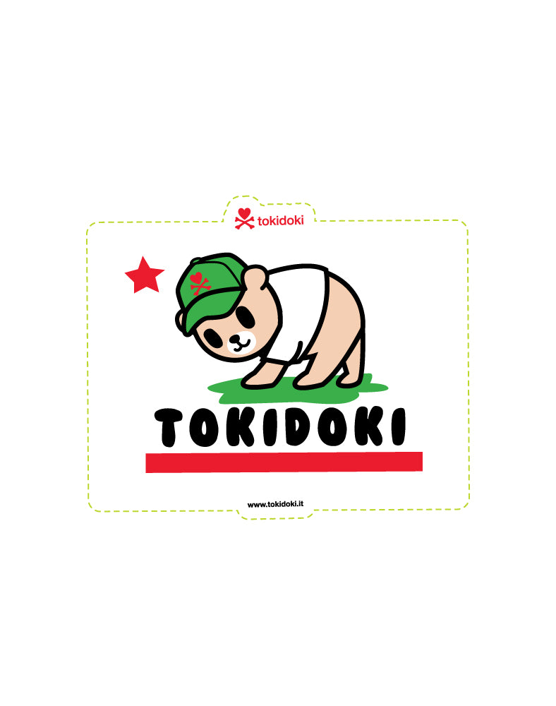 tokidoki Flag Die Cut Sticker