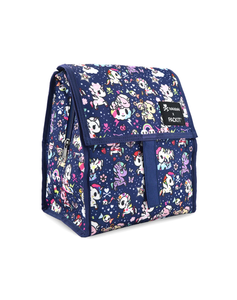 tokidoki x PACKIT Unicorno Dreams Personal Cooler Side